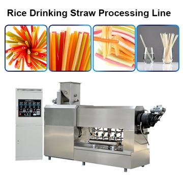 Biodegradable Rice Straw Processing Machine / Edible Straws Machine / Complete Line