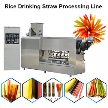 Edible Rice Straw Straw Machine Drinking Straw Making