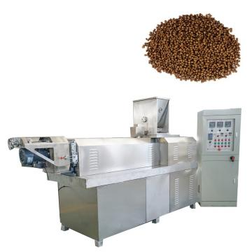 Easy Operation Extruded Fish Feed Pellet Extruder Machine
